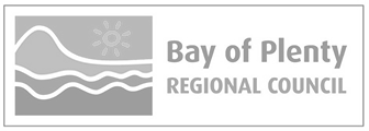 Logo bay of plenty regional council grey