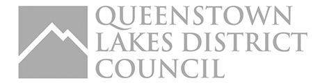 Logo queenstown lakes district council grey