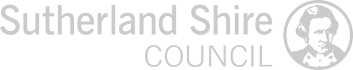 Logo sutherland shire council grey